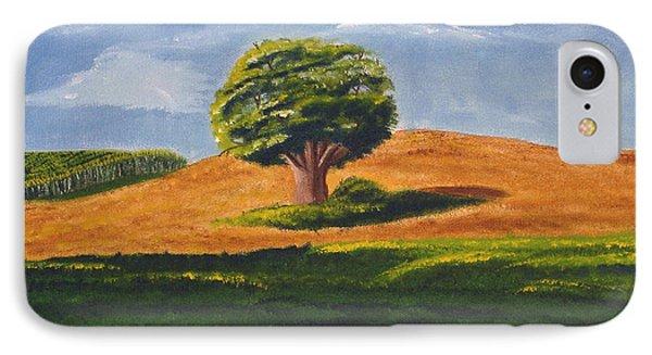 Lone Tree Phone Case by Mendy Pedersen
