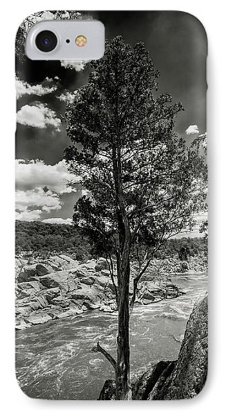 Lone Tree IPhone Case by Paul Seymour