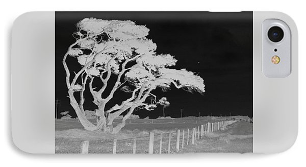 IPhone 7 Case featuring the photograph Lone Tree, West Coast by Nareeta Martin