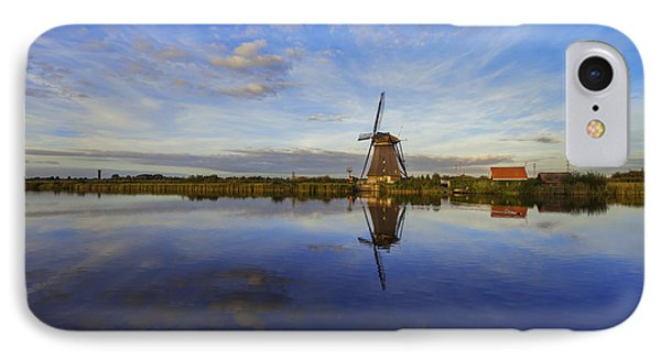 Lone Windmill IPhone Case by Chad Dutson