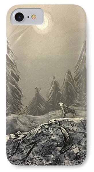 Lone Wolf IPhone Case