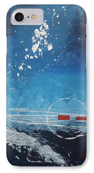 Lonely Cargo#8 - Missing You IPhone Case by Debra Abby Js