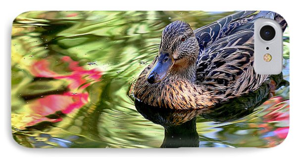 IPhone Case featuring the photograph Lonely Duckie by Elaine Malott