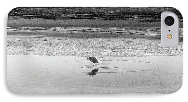 IPhone Case featuring the photograph Lonely Heron by Nicholas Burningham