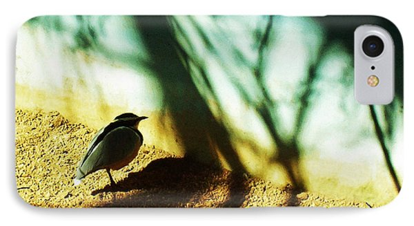 IPhone Case featuring the photograph Lonely Little Bird by Shawna Rowe