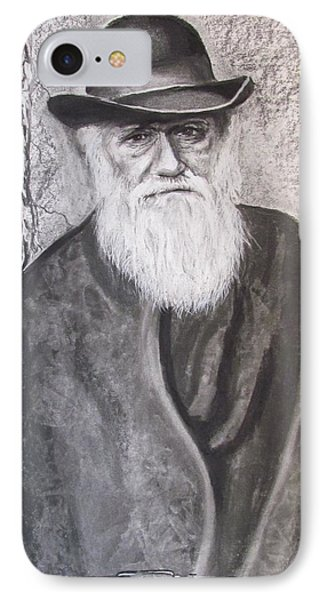 Lonely Occupation - C. Darwin IPhone Case by Eric Dee