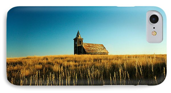 Lonely Old Church IPhone Case by Todd Klassy