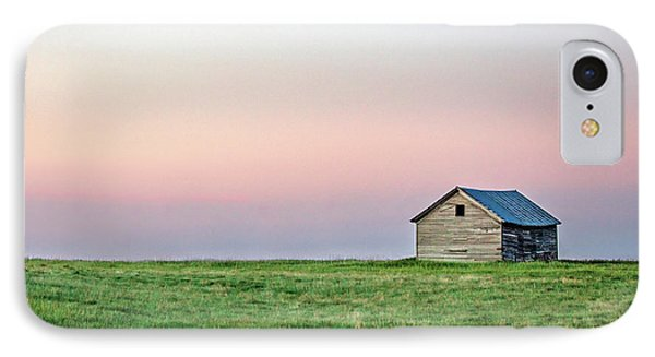 Lonely Old Shed IPhone Case by Todd Klassy