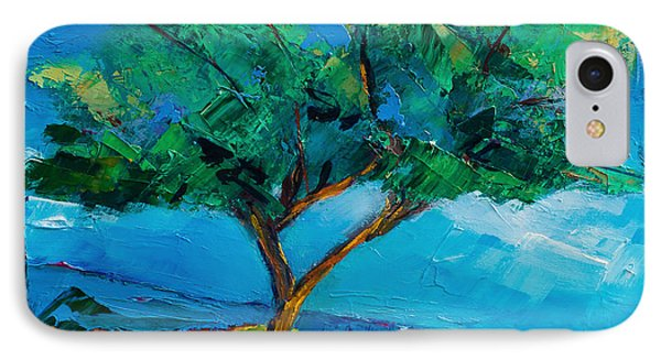 Lonely Olive Tree Phone Case by Elise Palmigiani