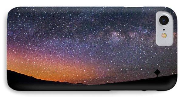Lonely Road Death Valley Milky Way Galaxy IPhone Case