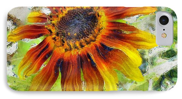 Lonely Sunflower IPhone Case