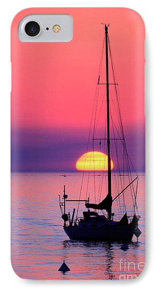 IPhone Case featuring the photograph Lonely Sunset by Bernardo Galmarini