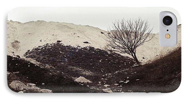 Lonely Tree IPhone Case by Anton Popov