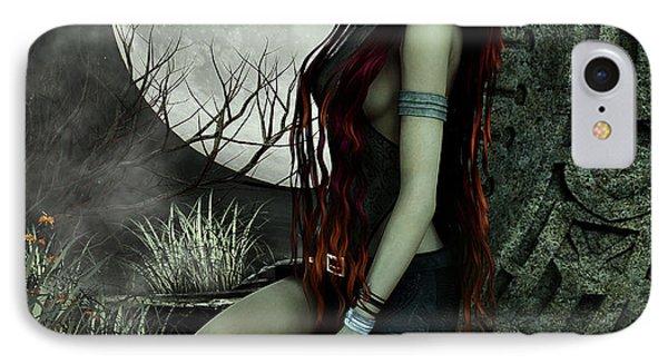 Lonesome Night IPhone Case by Jutta Maria Pusl
