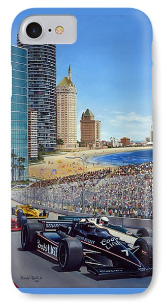 Long Beach Grand Prix 1984 IPhone Case