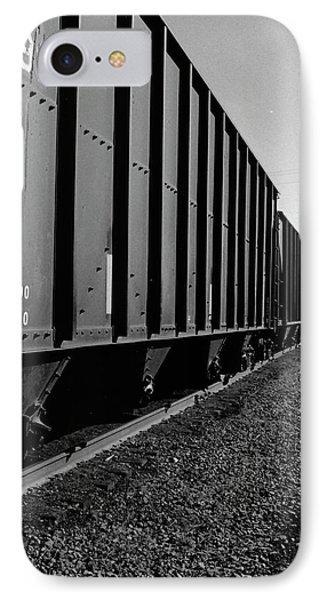 IPhone Case featuring the photograph Long Black Train by Tara Lynn