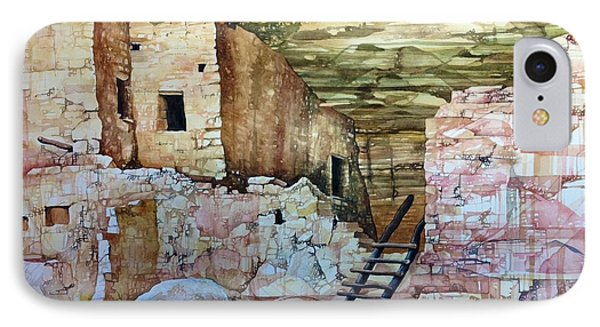 Long House, Mesa Verde National Park Phone Case by Lance Wurst