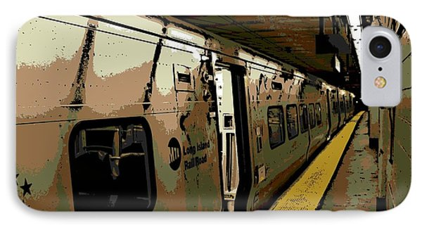 Long Island Railroad IPhone Case by George Pedro