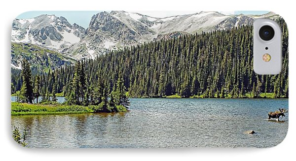 IPhone Case featuring the photograph Long Lake Splender by Joseph Hendrix