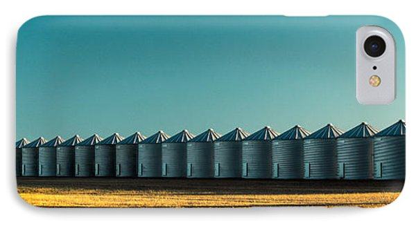 Long Line Of Bins IPhone Case by Todd Klassy