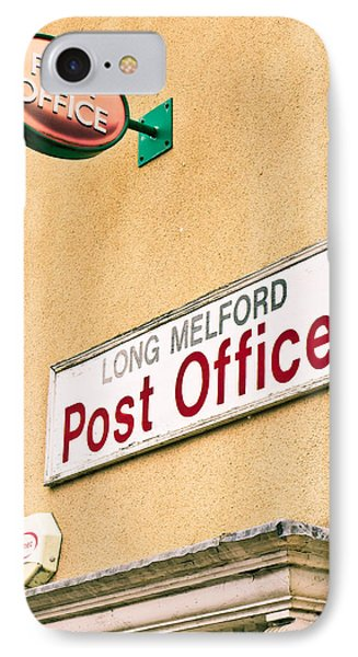 Long Melford Post  Office IPhone Case