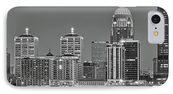 Long Monochrome Louisville IPhone Case by Frozen in Time Fine Art Photography