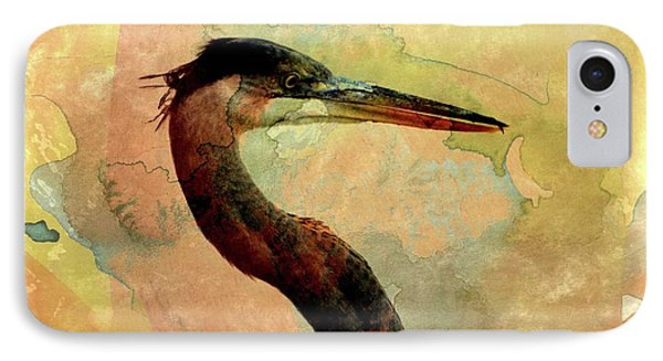 Long Neck 2 IPhone Case by Marty Koch