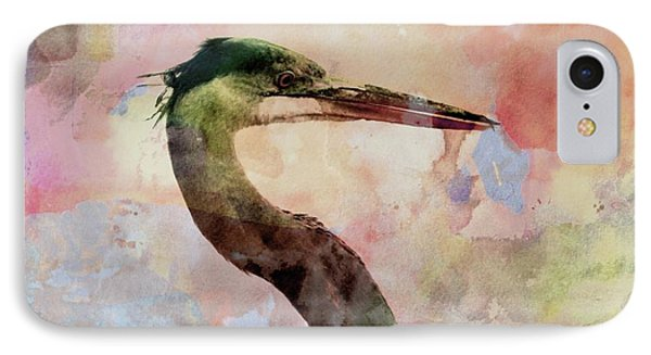 Long Neck 3 IPhone Case by Marty Koch