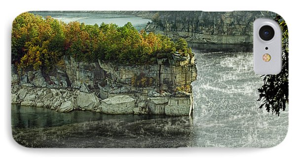 Long Point Clff IPhone Case by Mark Allen