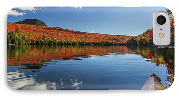 Long Pond From A Kayak IPhone Case by Tim Kirchoff