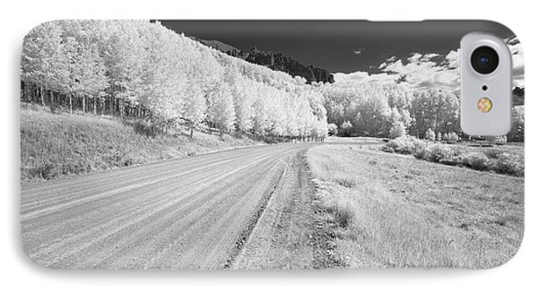 IPhone Case featuring the photograph Long Road In Colorado by Jon Glaser