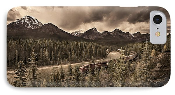 Long Train Running IPhone Case by John Poon