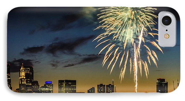 Long Warf Fireworks 1 IPhone Case by Mike Ste Marie