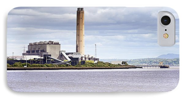 IPhone Case featuring the photograph Longannet Power Station by Jeremy Lavender Photography