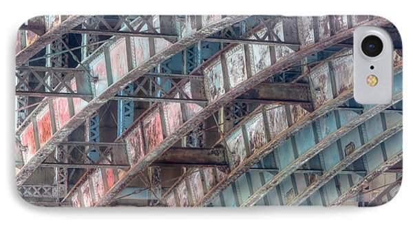 Longfellow Bridge Arches II Phone Case by Clarence Holmes