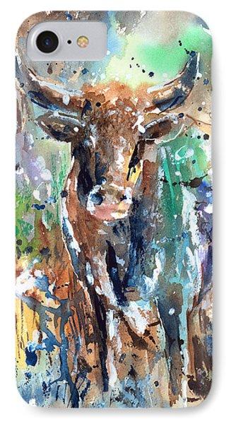 Longhorn Steer IPhone Case