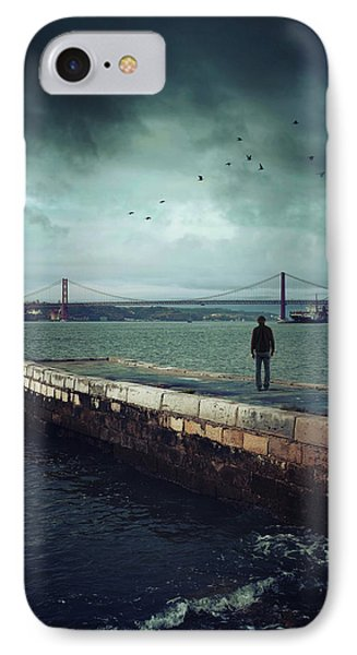 Longing For The Departed IPhone Case by Carlos Caetano