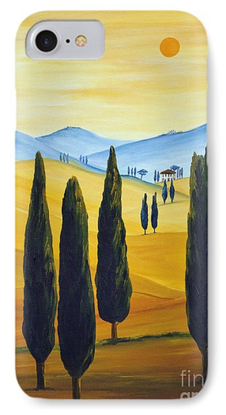 Longing For Tuscany IPhone Case by Christine Huwer