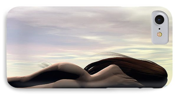 Longing IPhone Case by Sandra Bauser Digital Art