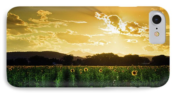 IPhone Case featuring the photograph Longmont Summer Skies 2 by John De Bord
