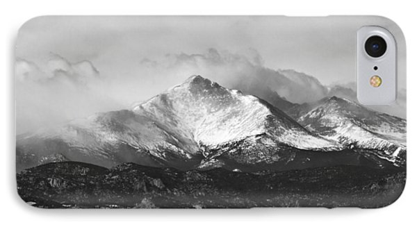 Longs Peak And A Mean Storm Phone Case by James BO  Insogna