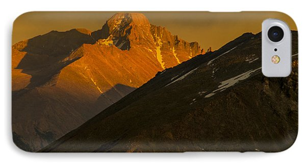 IPhone 7 Case featuring the photograph Long's Peak by Gary Lengyel