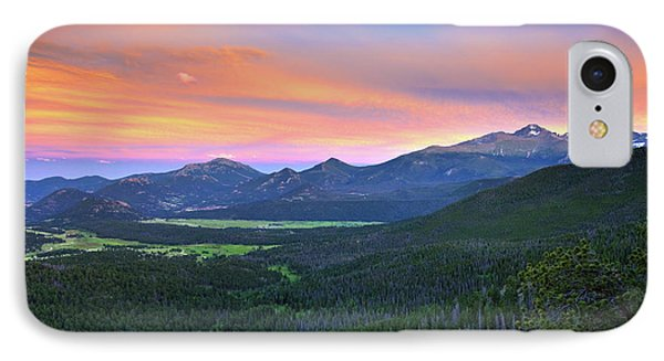 Longs Peak Sunset IPhone 7 Case