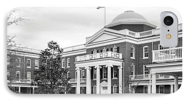 Longwood University Ruffner Hall IPhone Case by University Icons