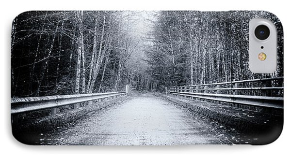 IPhone Case featuring the photograph Lonliness Highway by Spencer McDonald