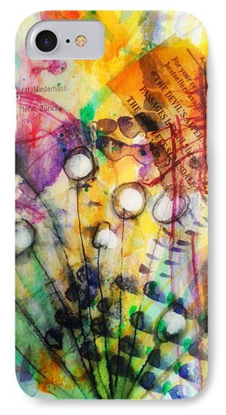 IPhone Case featuring the mixed media Look Around by Mimulux patricia no No