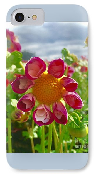 Look At Me Dahlia IPhone Case by Susan Garren