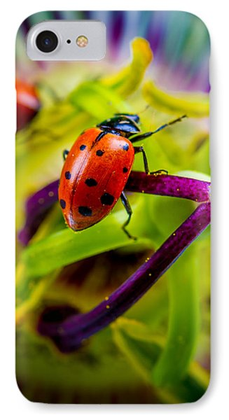 Look At The Colors Over There. IPhone Case by TC Morgan