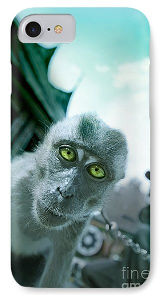Look Into My Eyes IPhone Case by Charuhas Images
