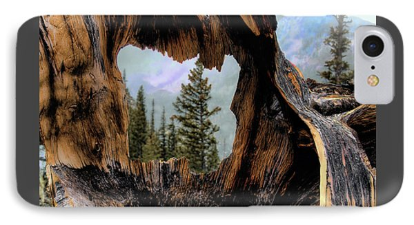 IPhone Case featuring the photograph Look Into The Heart by Jim Hill